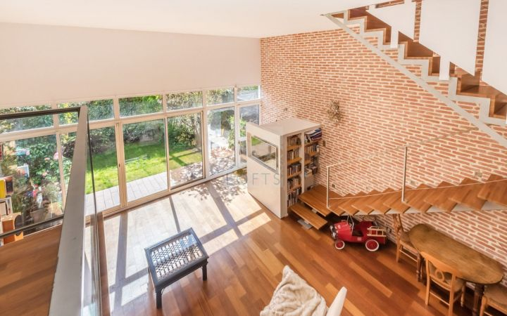Loft familial avec espace extérieur pantin