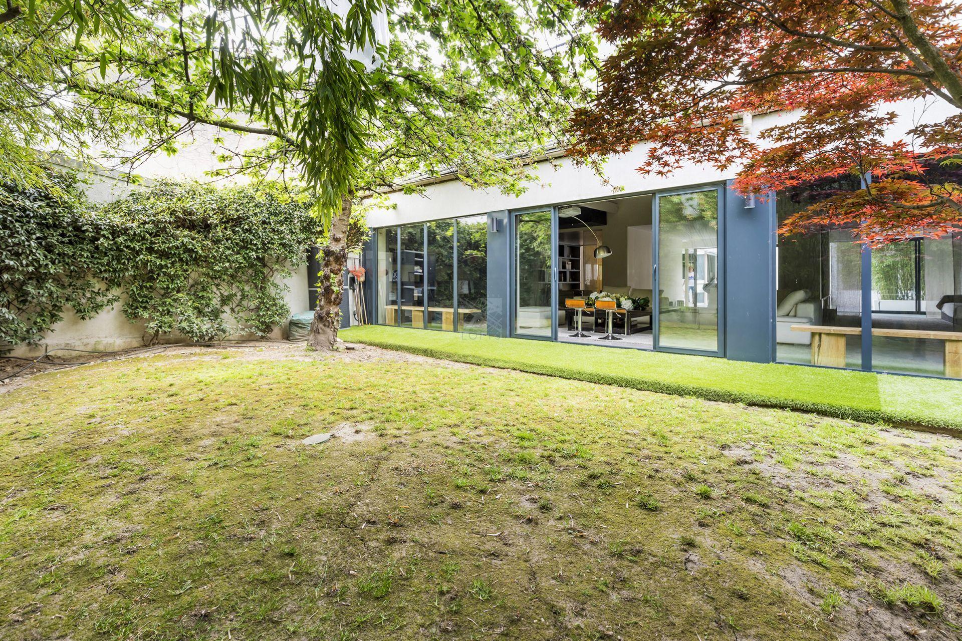 Jardin Sur Une Terrasse maison loft avec jardin, terrasse et studio indépendant