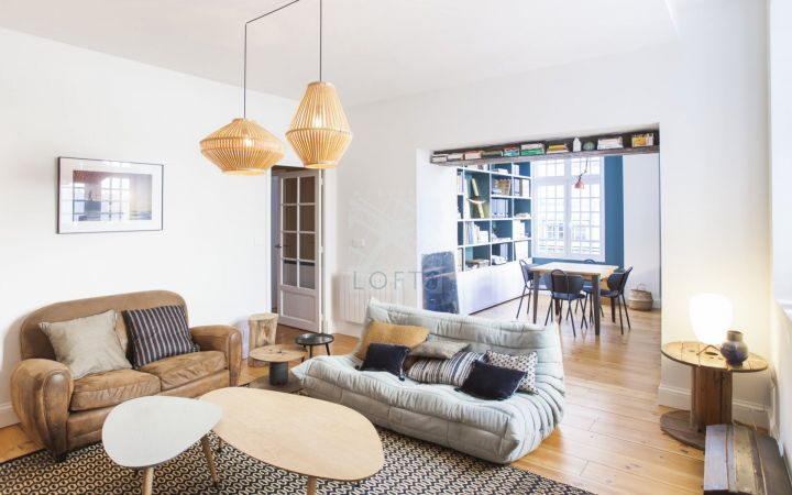 Appartement de charme rénové par architecte