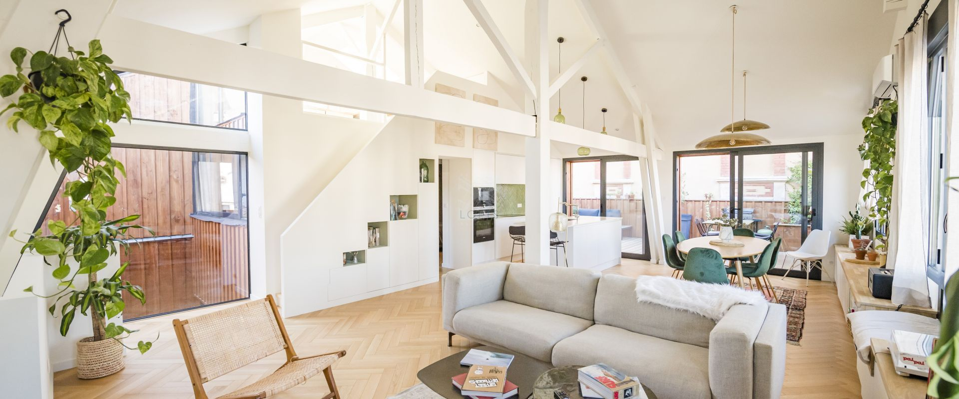 Loft with terrace in Arcachon