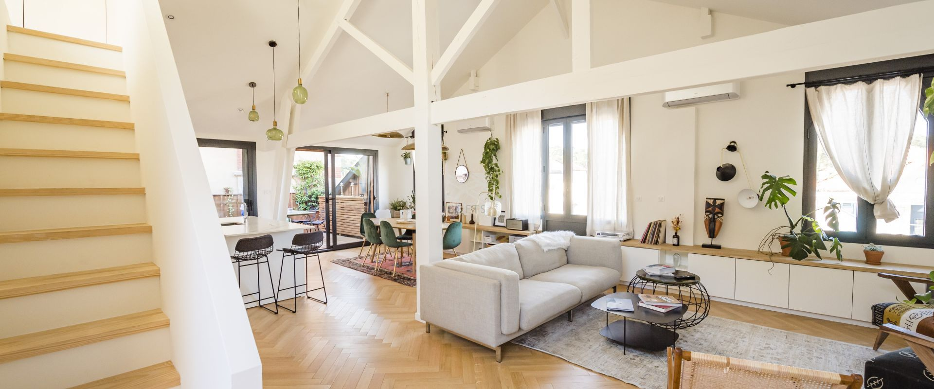 Renovated townhouse in Arcachon
