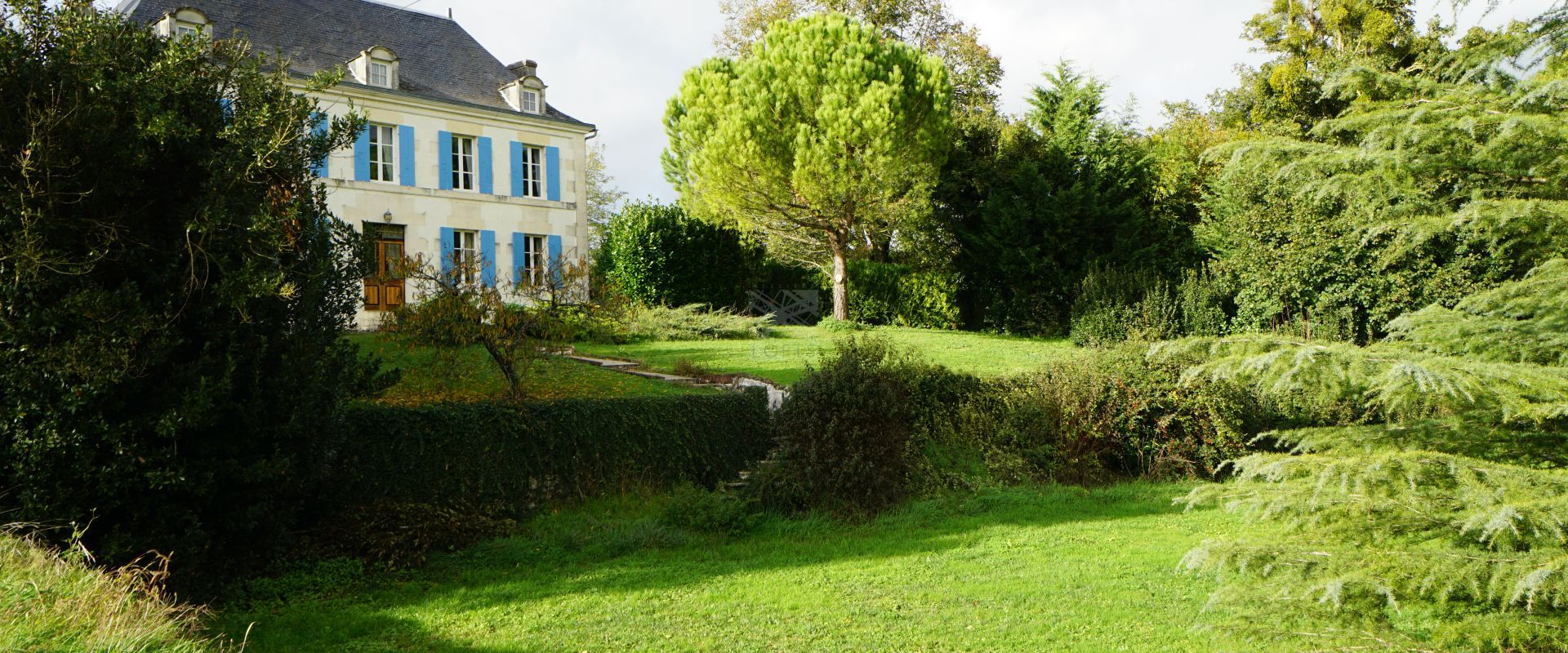 wooded land property Royan