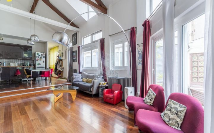 Ateliers lofts associ s agence immobili re paris for Loft agence immobiliere