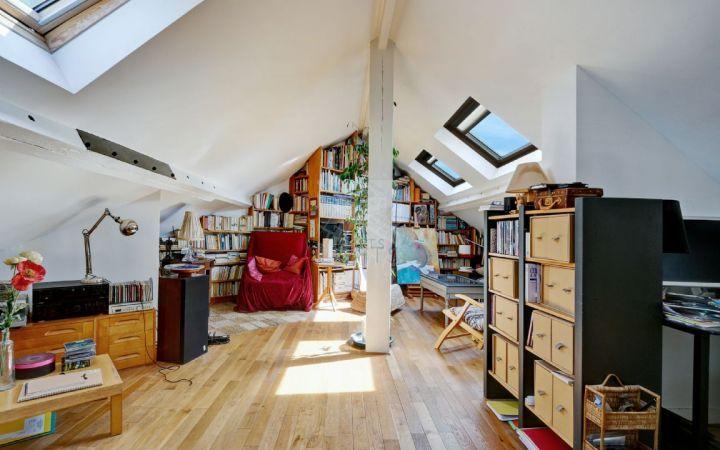 Duplex type loft en dernier etage nogent village